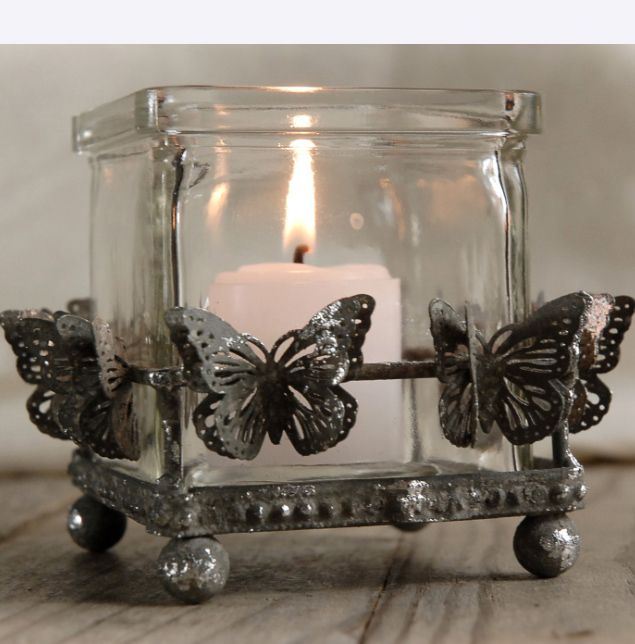 Butterfly Votive  Candle Holder  $9.99 each / 3 for $9 each