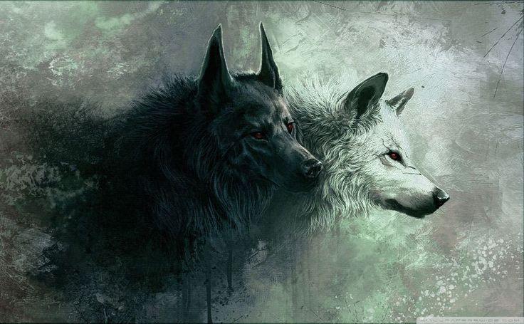 Adrian Von Ziegler Wolf Blood HD Wallpaper
