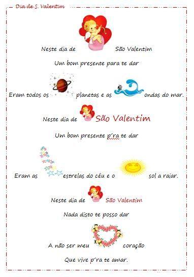 Educ Naweb Pre Escolar Dia De Sao Valentim Recursos Com