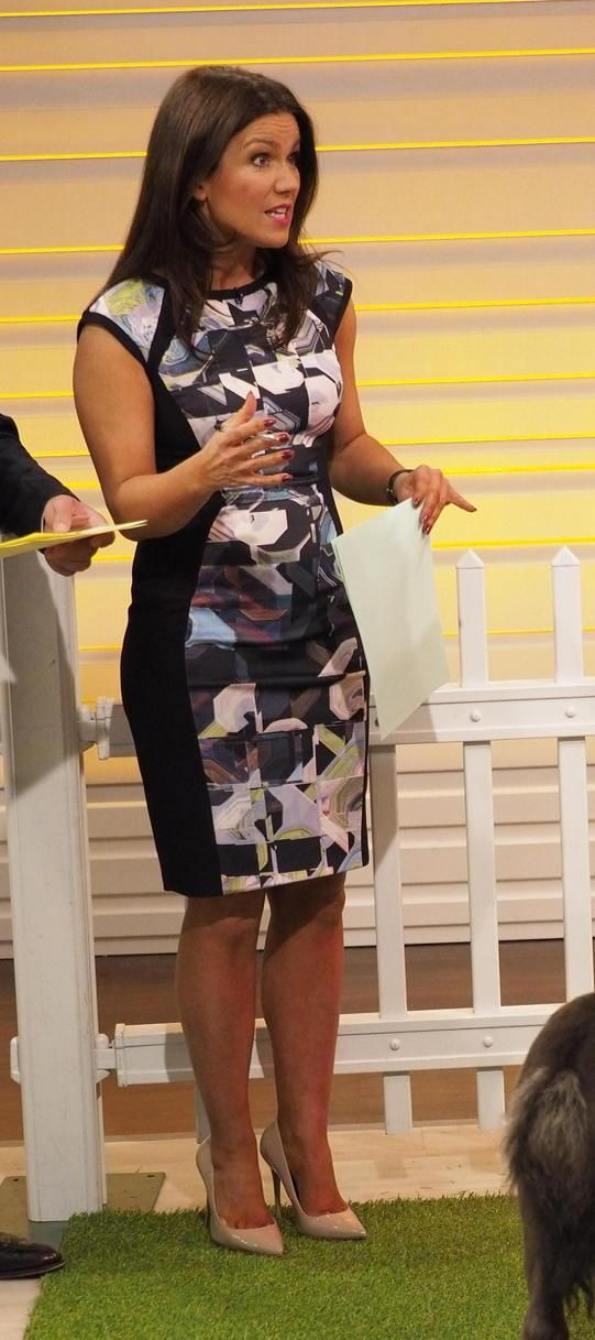 @GMB @susannareid100 wearing @tedbaker dress @OfficeShoes !