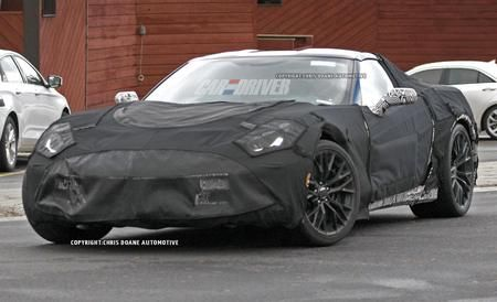 2016 Chevrolet Corvette Z07 Spy Photos For GM's ultimate sports car, it takes a village (of horsepower).
