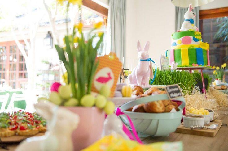 A delightful Easter spread by Belle's Patisserie