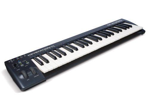 M-Audio Keystation 49 II USB Keyboard MIDI Controller M-Audio http://smile.amazon.com/dp/B00IWWZAM6/ref=cm_sw_r_pi_dp_4uiLvb0CCVJFS