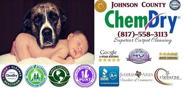 We are your locally owned Carpet Cleaning and Pet Urine Removal Specialist, serving Johnson County, Tx for 25 years! Carpet! Rugs! Upholstery! Granite! Mattresses! And soon Tile and Stone!