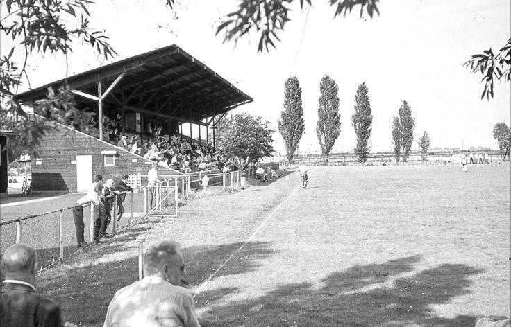 DWV voetbalveld in de Meer, begin 60er jaren.