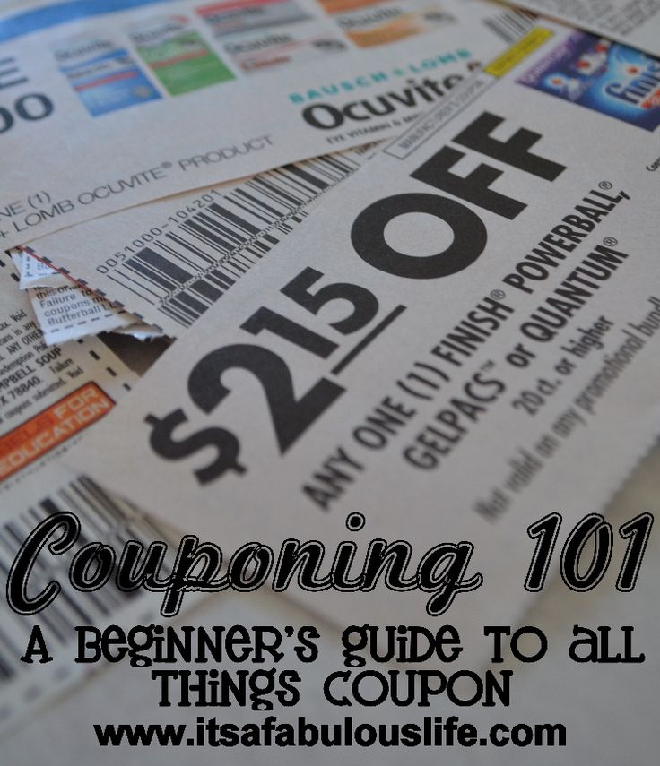 Couponing 101: A Beginner's Guide to All Things Coupon - How to Coupon