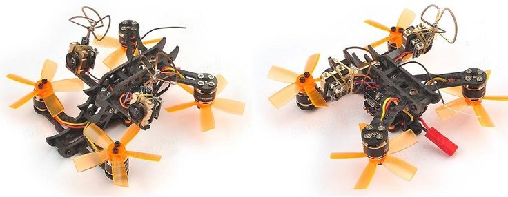 Realacc Horns 3D FPV Racing Quadcopter drone