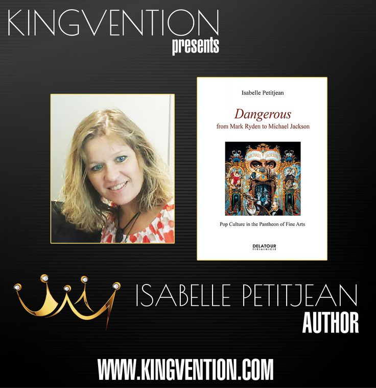 """Isabelle Stegner-Petitjean will be present at KINGVENTION on September 30 in London. As musicologist specialized in MJ's music, Isabelle will offer her two books, in French and in English: """"Dangerous, from Mark Ryden to Michael Jackson. Pop culture at the pantheon of Fine Arts"""" and """"Michael Jackson: Voice upon a time... from Motown to Bruce Swedien's studio, the expressiveness and the message of a unique voice"""" prefaced by Bruce Swedien and Tom Bähler Isabelle will offer the DVD of the…"""