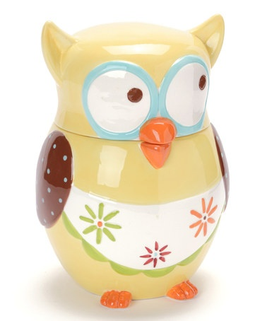 Take a look at this Boston Warehouse Owl Cookie Jar by Boston Warehouse on #zulily today!