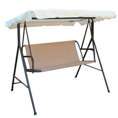 Beige Outdoor Patio Swing Canopy Replacement 6 25 Foot 29
