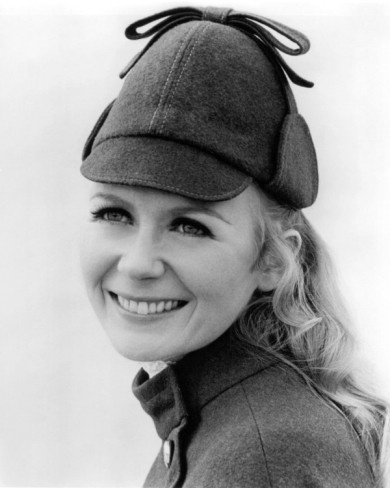 """Juliet Mills from """"Nanny and the Professor."""