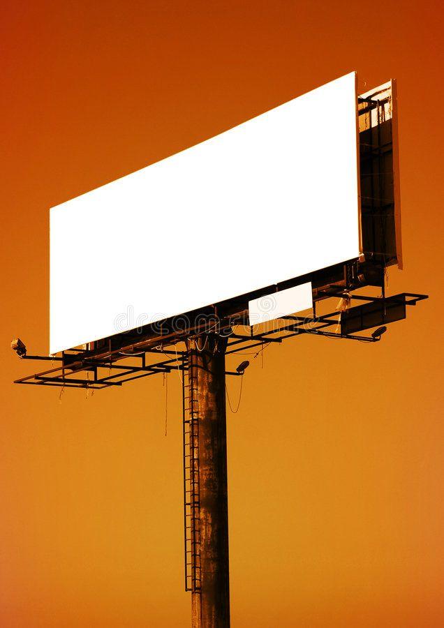 Empty Billboard Signpost Panel Sunset Time Sponsored Ad Ad Billboard Time Sunset Empty Black Background Wallpaper Billboard Aesthetic Images