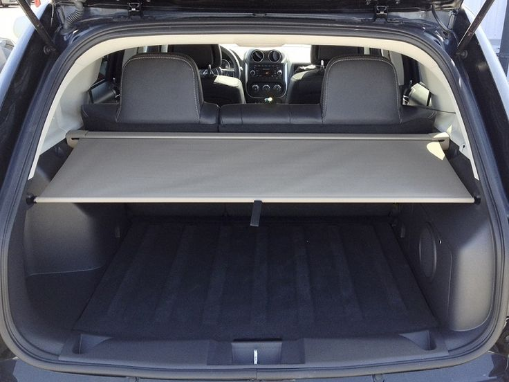 Keep the contents in the cargo area of your 2007 - 2016 model year Jeep Patriot or Jeep Compass safe from prying eyes by installing a cargo area security cover. These Mopar covers, item #MKSecurityCover, are designed to fit securely in these particular vehicle models. Covers are available in slate gray or beige, allowing you to choose a cover based on the interior colors of your vehicle. These security covers are retractable and can be easily removed if you need to add larger items to your…