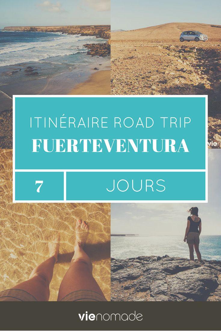 Fuerteventura: n'est-ce pas là un nom qui appelle à l'aventure? Il se réfèrerait plutôt au vent fort, qui est sans aucun doute le totem de l'île. Traduit de l'espagnol, il pourrait décrire une forte chance, un puissant hasard ou encore une grande félicité. Cette île, c'est un peu tout ça pour moi. Découvrez ce joyau de l'archipel des Canaries à travers un itinéraire road trip d'une semaine, accompagné de récits, d'anecdotes et de bonnes adresses. Voyage, voyage...