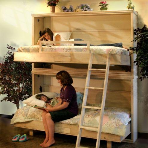 Murphy bed bunk beds :)