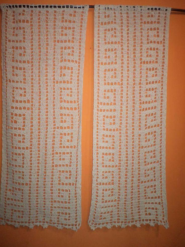 Tejidos Crochet Cortinas Caminos Alfombras Mantas Etc - $ 210,00 ...
