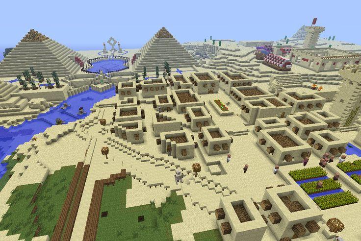minecraft egypt adventure map