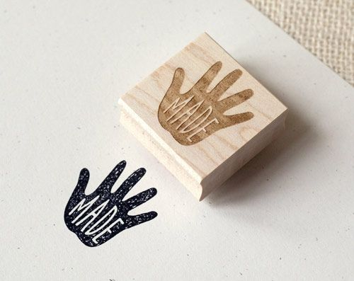 handmade stamp | Wit & Whistle