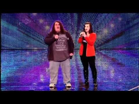 WOW Jonathan & Charlotte Britains Got Talent  2012
