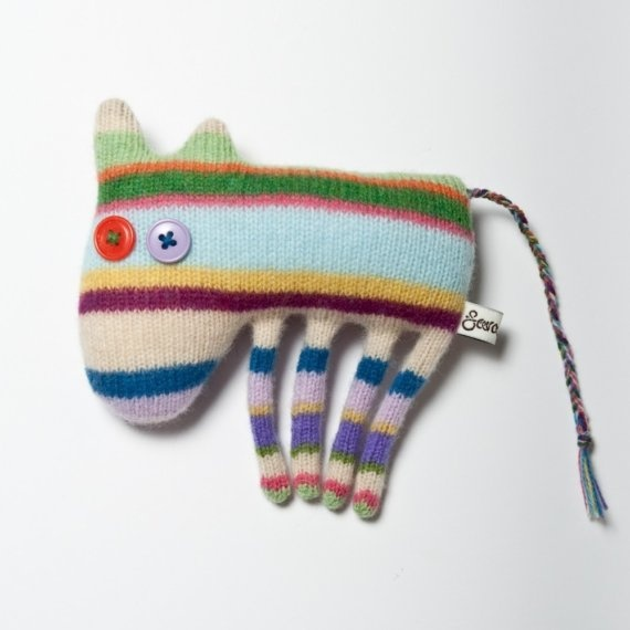 Louis the Donkey Lambswool Toy by saracarr