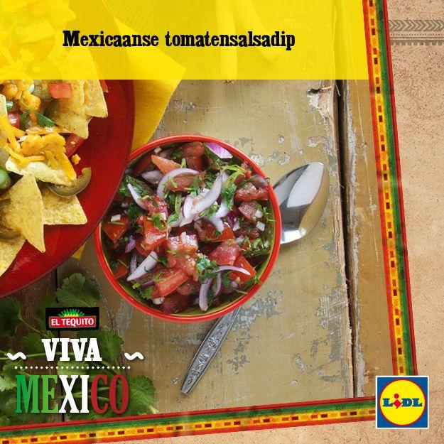 Recept voor Mexicaanse tomatensalsadip #Lidl #Mexico #tomatensalsa