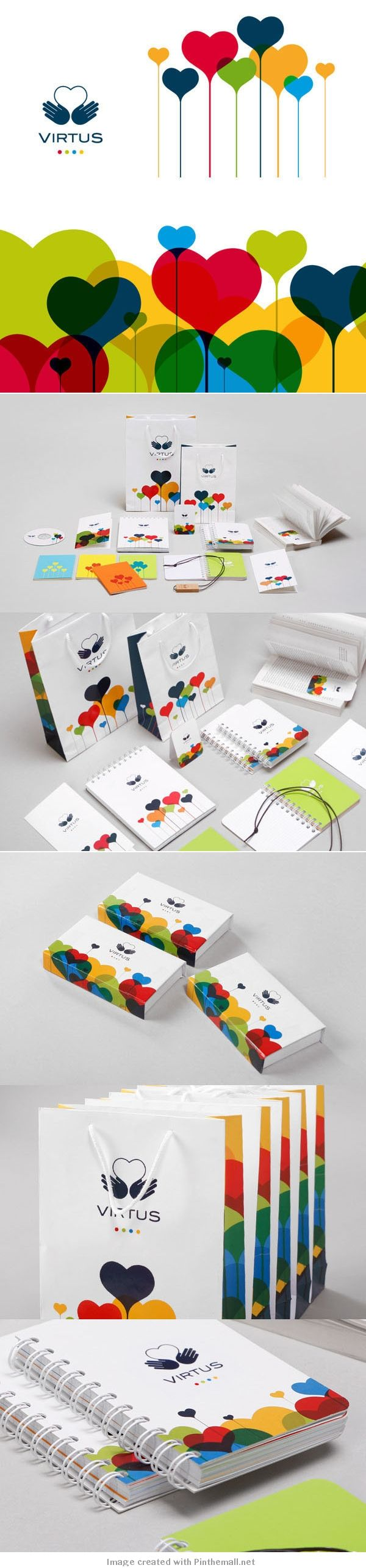 28 Creative Branding and Identity Design examples for your inspiration / Virtus