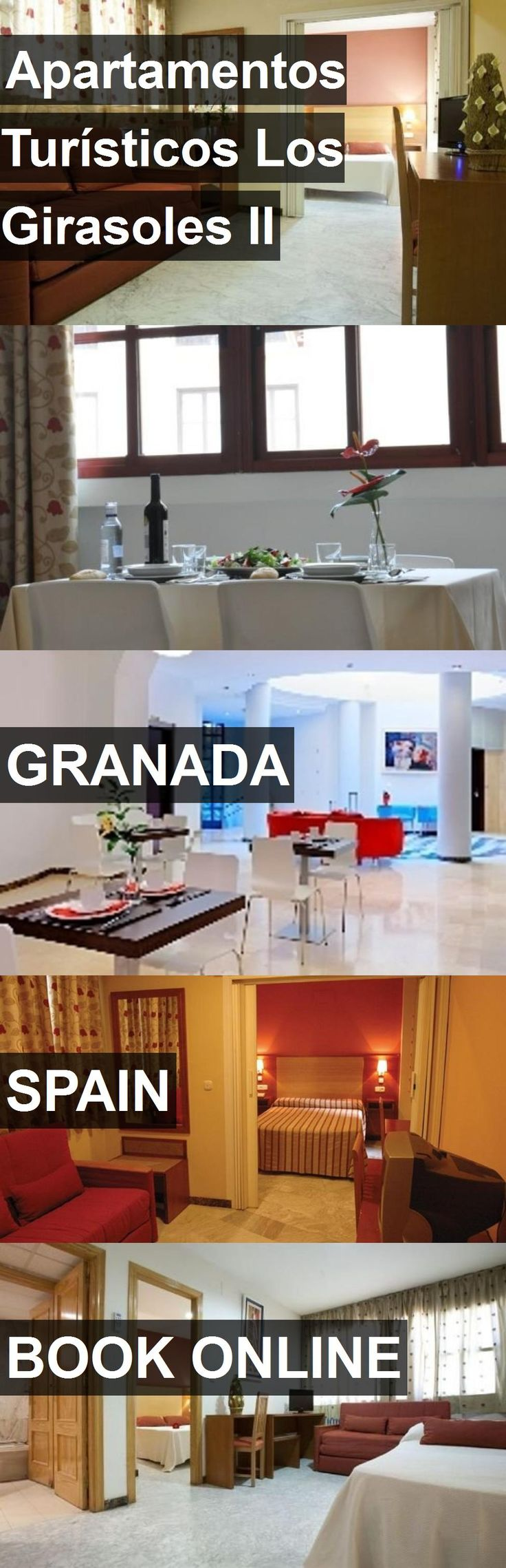 Hotel Apartamentos Turísticos Los Girasoles II in Granada, Spain. For more information, photos, reviews and best prices please follow the link. #Spain #Granada #travel #vacation #hotel