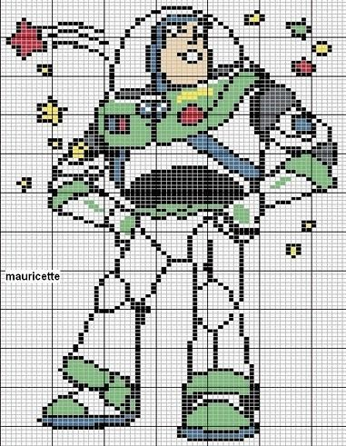 Toy Story hama perler beads pattern