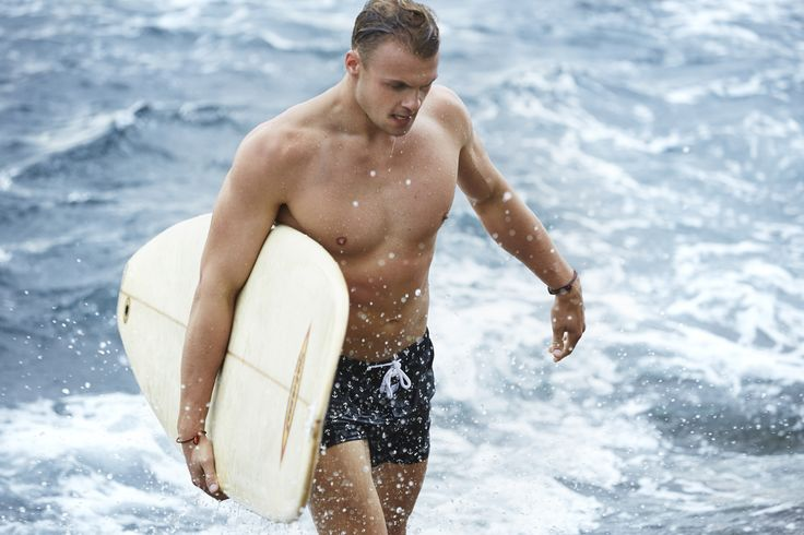 In the Surf   Penkivil Boxer Short Anchor   #campbellandhall #bondi #surf #menswear #shorts
