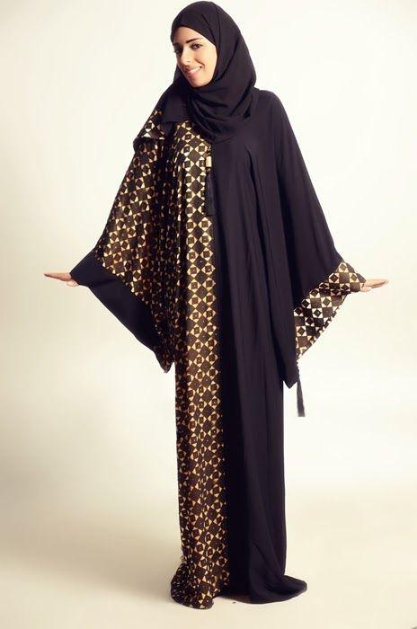 Abaya Designs 2014 For Ladies, By Alkaram Qadri