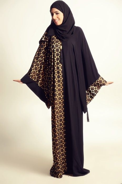 Abaya Designs 2014 For Ladies, By Alkaram Qadri
