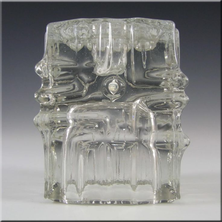 Rosice Sklo Union Glass Candlestick - Vladislav Urban - £14.99
