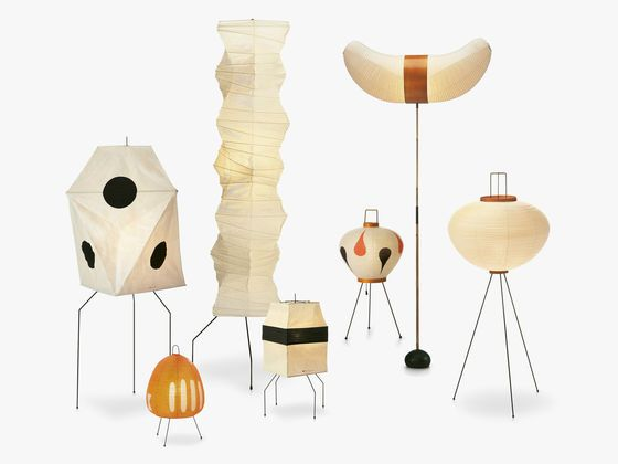 Akari Light Sculptures by Isamu Noguchi in 1951