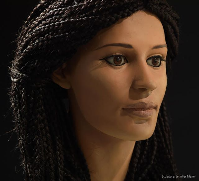 Ancient Egyptian woman Meritamun 'brought to life' 2000 years later.  Meritamun has been brought back to life using CT scanning, 3D printing, forensic science and art  [Credit: Paul Burston] Ancient Egypt has fascinated everyone from conquerors like Alexander the Great and Napoleon to movie directors chasing cursed mummies and lost treasures.