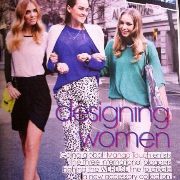 On Teen Vogue, May Usa issue - @chiaraferragni- #webstagram: Mango Touch, International Bloggers, Female Style, Teen Vogue, Style Savvy Chiara Ferragni, Street Style, Vogue Collaborationsandwork, Vogue Collaborative And Work, Werel