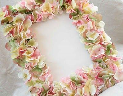 Galleria foto - Portafoto con fiori fai da te Foto 2