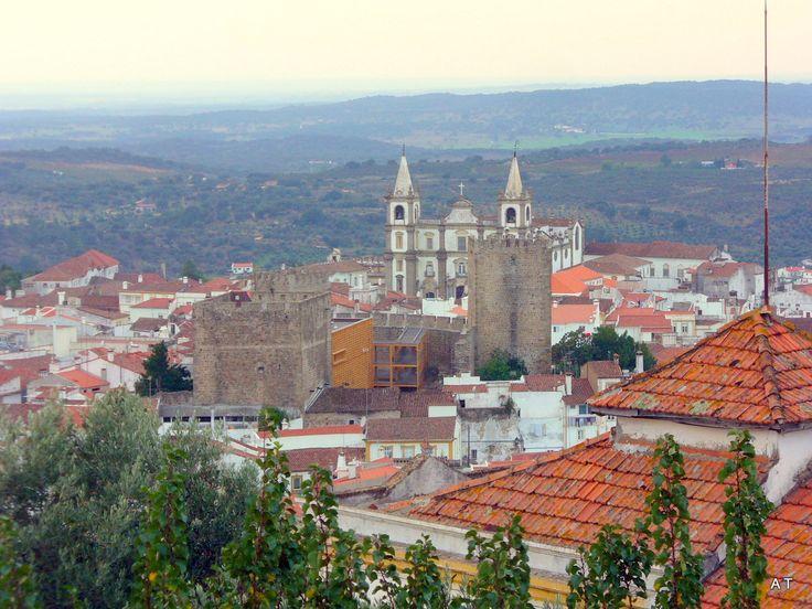 A bonita cidade de Portalegre-Alentejo-Portugal