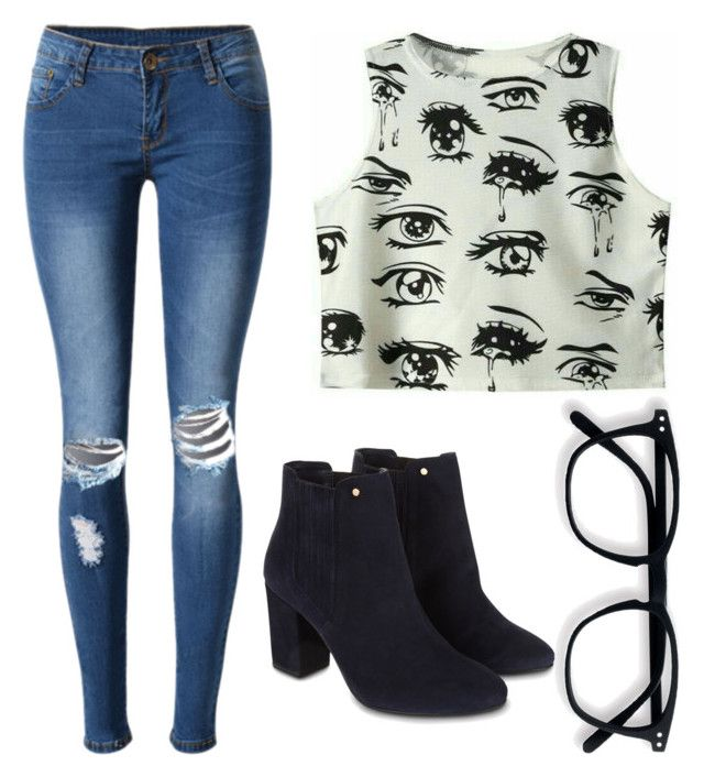 """""""Untitled #003"""" by liaperezmorales on Polyvore featuring WithChic and Monsoon"""