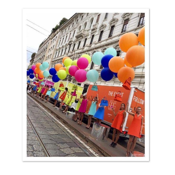 Save my Bag #event #milan #bag #colors #viamanzoni @savemybag #outfits #moda #2017 -->follow me on Instagram!