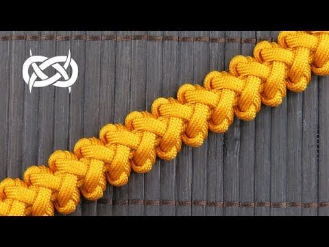 How to weave a Tangent Solomon Paracord Bracelet