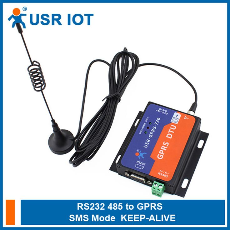 Q064 USR-GPRS232-730 Serial RS232/RS485 to GSM Modems Converter Server GPRS DTU Flow Control TCP and UDP Supported