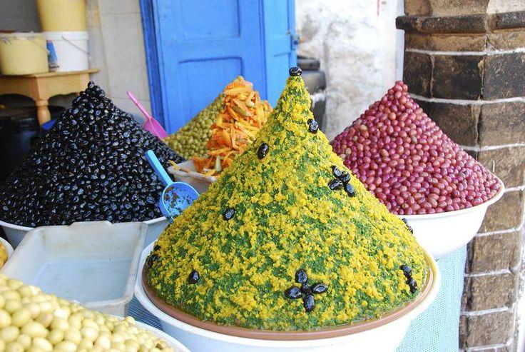 Marokkolainen ruoka on tunnettu yrttisistä ja mausteisista mauistaan. #Marokko #Morocco #herbs