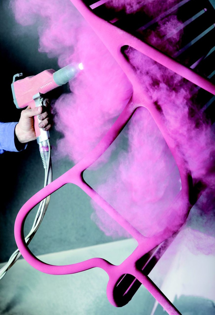 powder coating pink, get your powdercoat ing done at http://powderize.com
