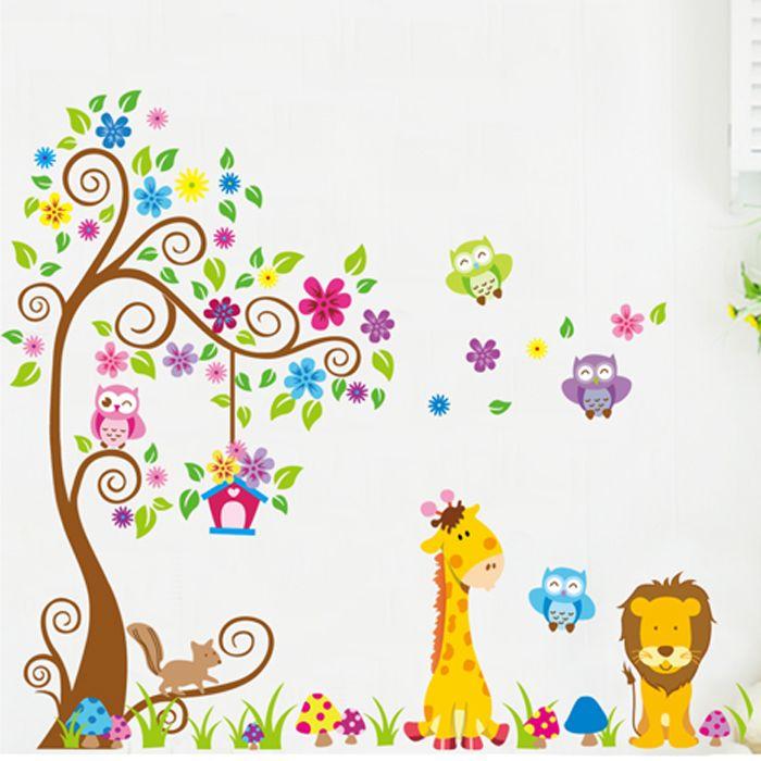 il re leone cartoon adesivi murali bambino vero jm7251ab carta da parati