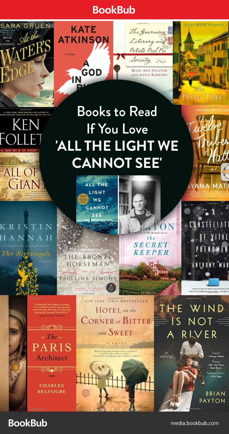 13 Books to Read If You Love 'All the Light We Cannot See'Sarah West Ervin