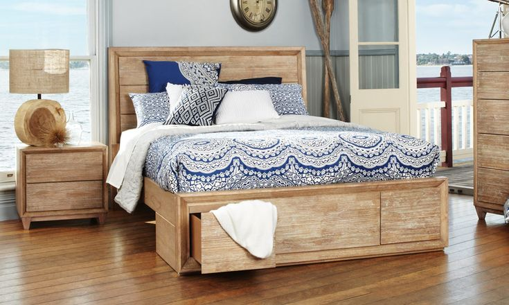 Ashville - Timber Queen Size Bed | Bedshed http://www.bedshed.com.au/beds-frames-and-bedroom-furniture/bedshed/ashville-queen-size-timber-bed