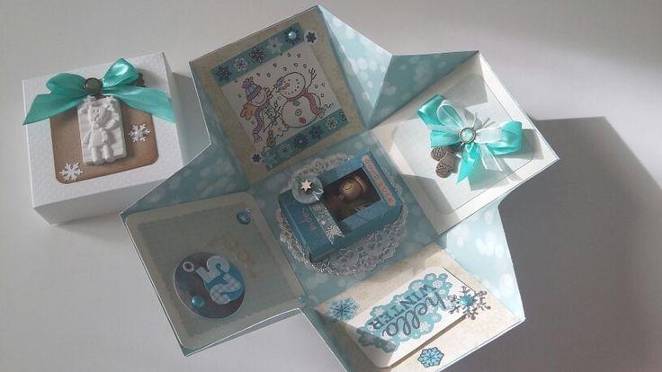 Explosion box natalizia 3