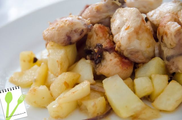 MUCHASRECETASDECOCINA: Pollo al Ajillo - Garlic Chicken