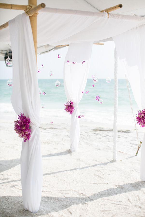 #casamento #decoração #praia