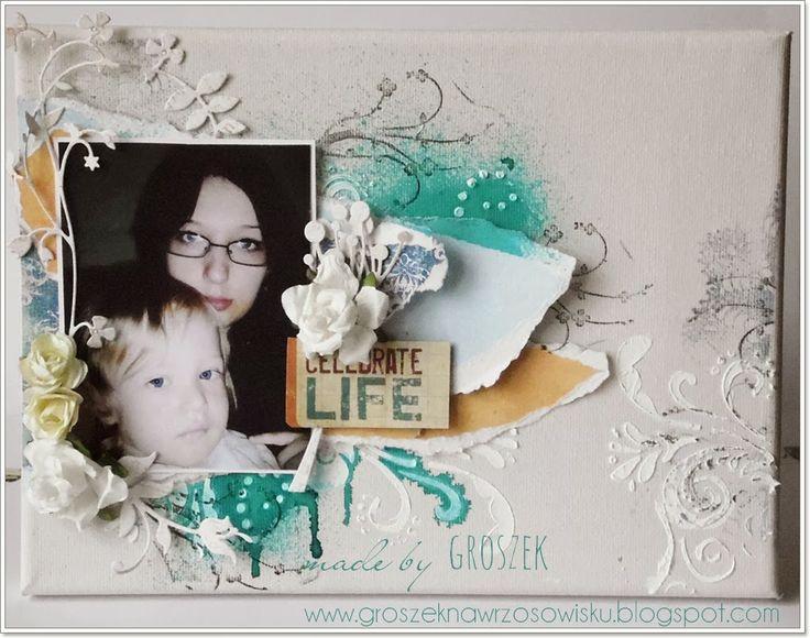 Made by Groszek: SZAGA i walentynka z sercem/SZAGA and card with the heart